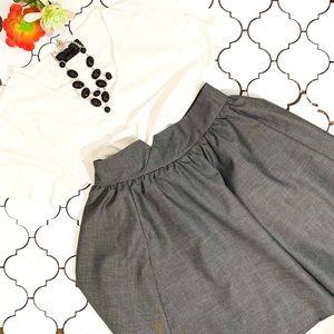 H&M Charcoal Grey full Skirt